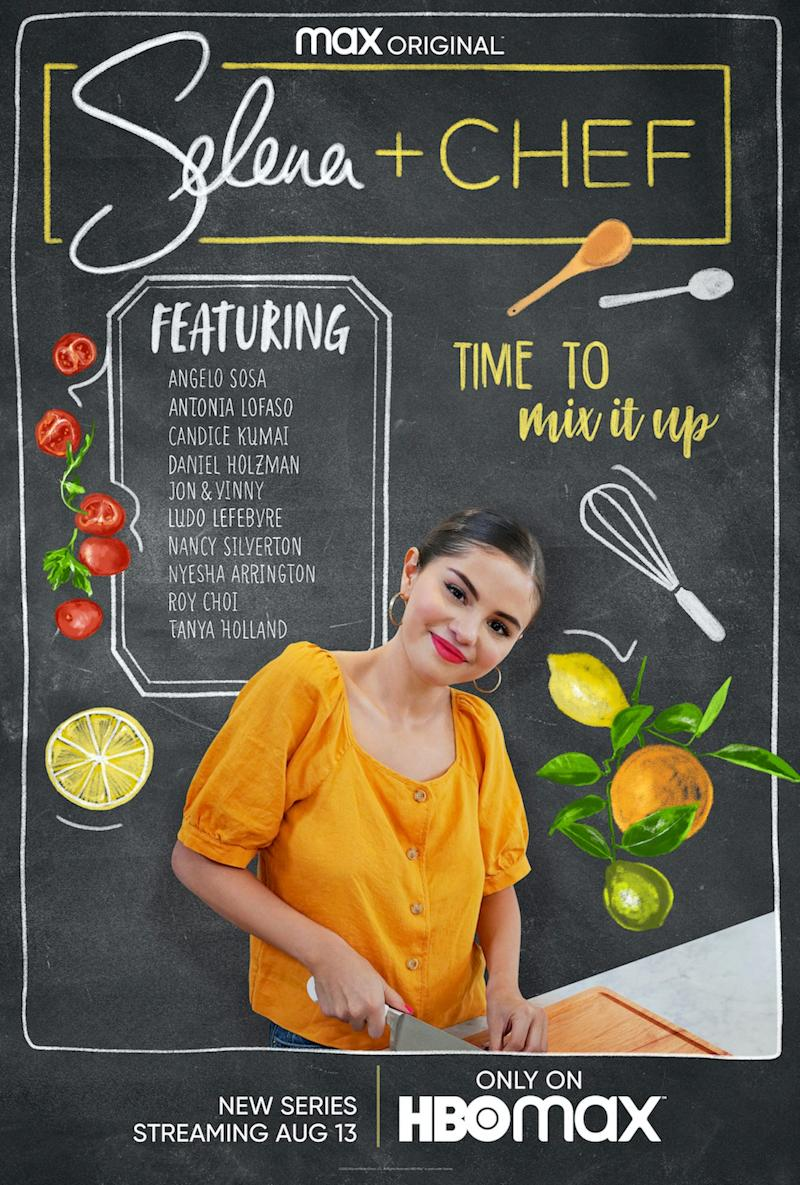 """""""Selena + Chef"""" begins streaming Aug. 13 on HBO Max."""