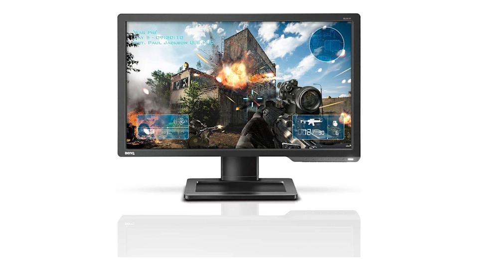 We called this Ben-Q Zowie monitor one of the best in its price range despite a less-than-killer color saturation.