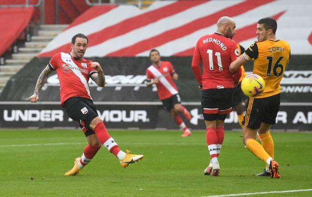 Danny Ings scored a brilliant opener for Southampton