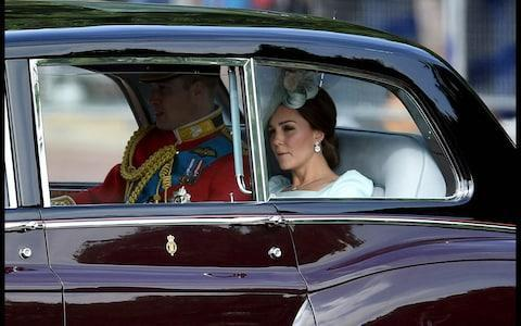 <span>Duke and Duchees of Cambridge arrive at Buckingham Palace</span> <span>Credit:  Andrew Parsons / i-Images </span>
