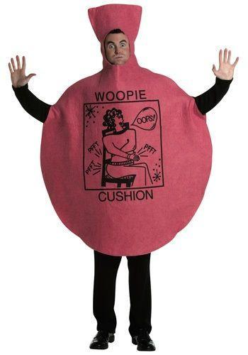 """<p>halloweencostumes.com</p><p><strong>$12.99</strong></p><p><a href=""""https://go.redirectingat.com?id=74968X1596630&url=https%3A%2F%2Fwww.halloweencostumes.com%2Fwhoopie-cushion-costume.html&sref=https%3A%2F%2Fwww.countryliving.com%2Fdiy-crafts%2Fg21600836%2Fdiy-funny-halloween-costumes%2F"""" rel=""""nofollow noopener"""" target=""""_blank"""" data-ylk=""""slk:Shop Now"""" class=""""link rapid-noclick-resp"""">Shop Now</a></p><p>So maybe it's not DIY, but no one can deny the humor of a Whoopee Cushion.</p>"""