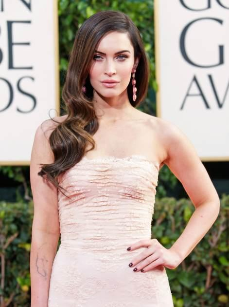 Megan Fox arrives at the 70th Annual Golden Globe Awards held at The Beverly Hilton Hotel on January 13, 2013 in Beverly Hills, Calif. -- Getty Premium