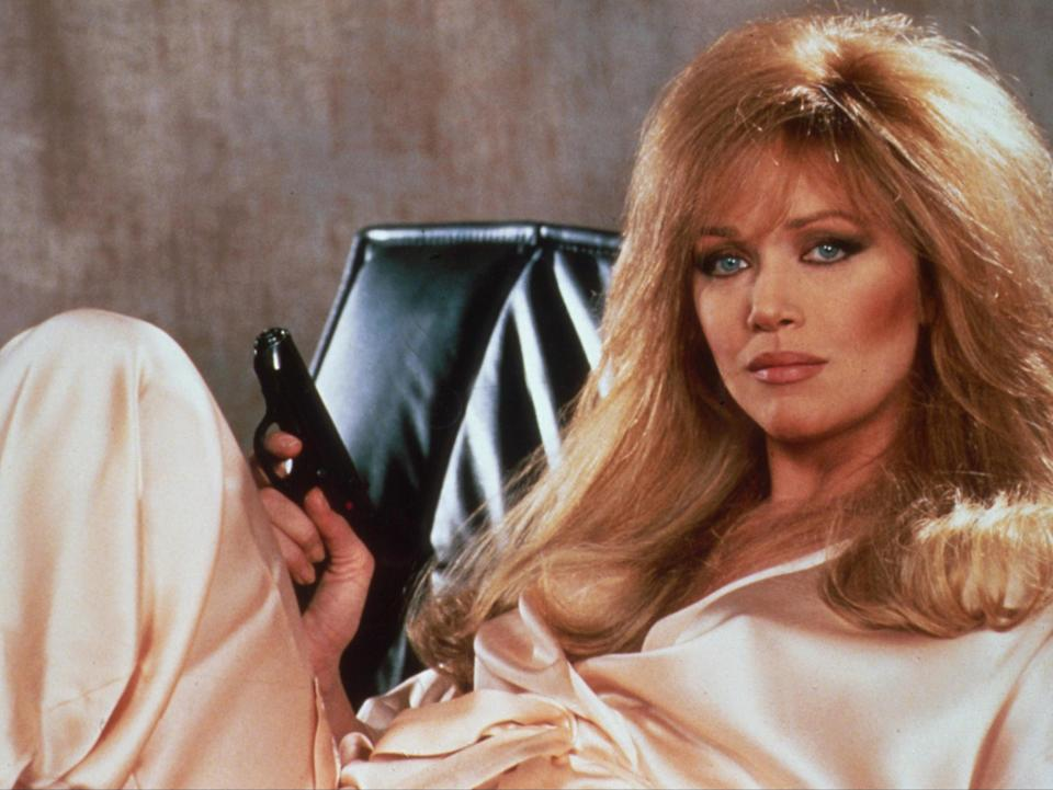 Tanya Roberts in A View to a Kill, 1985 (Rex Features)