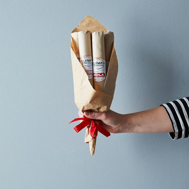 Olympia Provisions Salami Bouquet. (Photo: Food52)