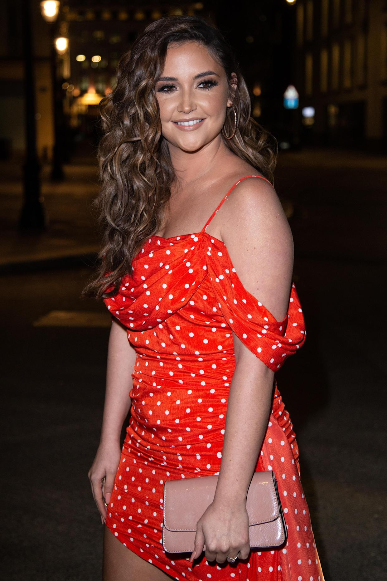 Jacqueline Jossa defended her holiday to Portugal. (Photo by Robin Pope/NurPhoto via Getty Images)