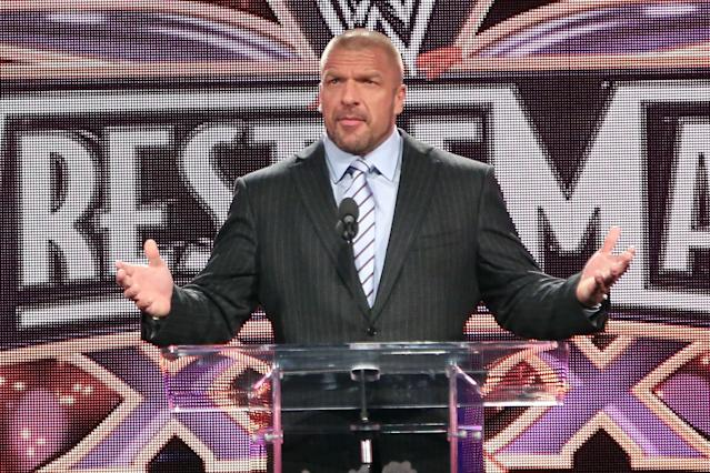Triple H has mastered how to juggle multiple roles at WWE. (Photo by Taylor Hill/WireImage)