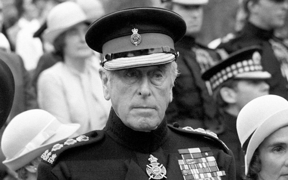 Lord Mountbatten was assassinated on a fishing boat in 1979 - PA