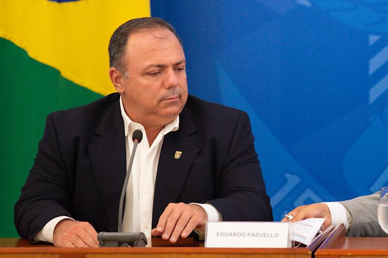 Newly Sworn into Office Health Minister of Brazil Nelson Teich Gives a Press Conference With Updates on the Coronavirus (COVID-19) Pandemic