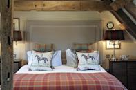 """<p>Brushed oak beams meet modern country decor at this charming country house hotel near London. City slickers looking for a rural idyll will love this secluded Sussex retreat surrounded by the South Downs National Park. Charming Alfriston is one of the oldest villages in Sussex, while vibrant Eastbourne is just half an hour away. There's a modern restaurant with antler-bedecked walls, and bathrooms are gorgeously glossy.</p><p><strong>Distance from London by train:</strong> London Victoria to Lewes station takes around 1 hour. From there you should take a connecting train to Berwick, which takes 10 minutes, and the hotel is five minutes away.</p><p><a href=""""https://www.redescapes.com/offers/east-sussex-alfriston-wingrove-house-hotel"""" rel=""""nofollow noopener"""" target=""""_blank"""" data-ylk=""""slk:Read our review of Wingrove House"""" class=""""link rapid-noclick-resp"""">Read our review of Wingrove House</a></p><p><a class=""""link rapid-noclick-resp"""" href=""""https://go.redirectingat.com?id=127X1599956&url=https%3A%2F%2Fwww.booking.com%2Fhotel%2Fgb%2Fwingrove-house-polegate12.en-gb.html%3Faid%3D2070929%26label%3Dhotels-outside-london&sref=https%3A%2F%2Fwww.redonline.co.uk%2Ftravel%2Finspiration%2Fg34469437%2Fhotels-outside-london%2F"""" rel=""""nofollow noopener"""" target=""""_blank"""" data-ylk=""""slk:CHECK AVAILABILITY"""">CHECK AVAILABILITY</a></p>"""