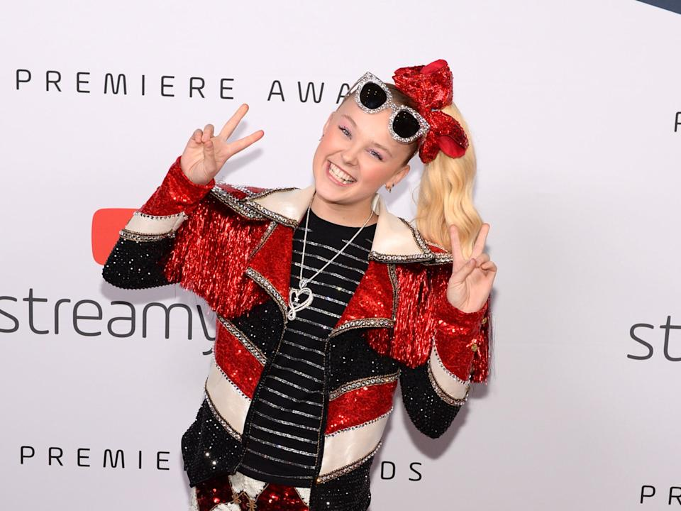 JoJo Siwa at the Streamy awards in Santa Monica, 2019 (Getty Images for Streamy Awards)