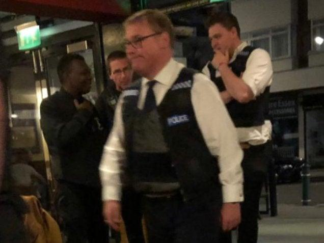Mr Francois was seen on Friday in a Rayleigh pub: Twitter/SophieRose19x