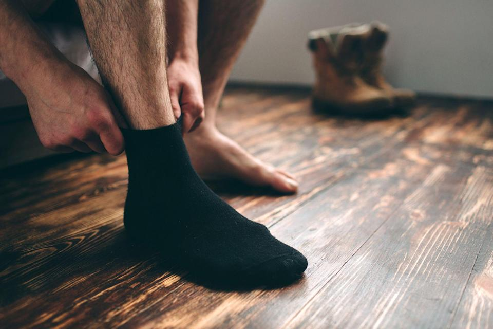 """<p>Socks are seriously underrated. </p><p>You've stocked up on <a href=""""https://www.menshealth.com/style/g19546347/the-best-mens-underwear/"""" rel=""""nofollow noopener"""" target=""""_blank"""" data-ylk=""""slk:quality underwear for all-day comfort"""" class=""""link rapid-noclick-resp"""">quality underwear for all-day comfort</a>, you've curated your perfect assortment of stylish tees, you've even <a href=""""https://www.menshealth.com/style/a19546067/25-best-jeans-for-men/"""" rel=""""nofollow noopener"""" target=""""_blank"""" data-ylk=""""slk:upgraded your jeans to the most flattering styles"""" class=""""link rapid-noclick-resp"""">upgraded your jeans to the most flattering styles</a>, but socks somehow have become an afterthought. If your sock drawer has turned into a dark hole of forgotten junk, it's a sign to score some fresh pairs. </p><p>Toss those ripped and worn-out pairs that are hanging on by a thread, because the best socks on the market have thoughtful details for unmatched support and unique patterns that'll make you want to flash some ankle. Whether you're in need of cool socks to accent your <a href=""""https://www.menshealth.com/style/a19545684/best-sneakers-men/"""" rel=""""nofollow noopener"""" target=""""_blank"""" data-ylk=""""slk:killer sneaker game"""" class=""""link rapid-noclick-resp"""">killer sneaker game</a> or just want to invest in breathable pairs that'll make your workouts more enjoyable, there are ton of options for guys to find their perfect match. </p><p>To make sure you score the right socks for all occasions, we rounded up the best socks for every man's budgets and needs. Once you slip on these bad boys, you'll never want to neglect this wardrobe essential again. </p>"""