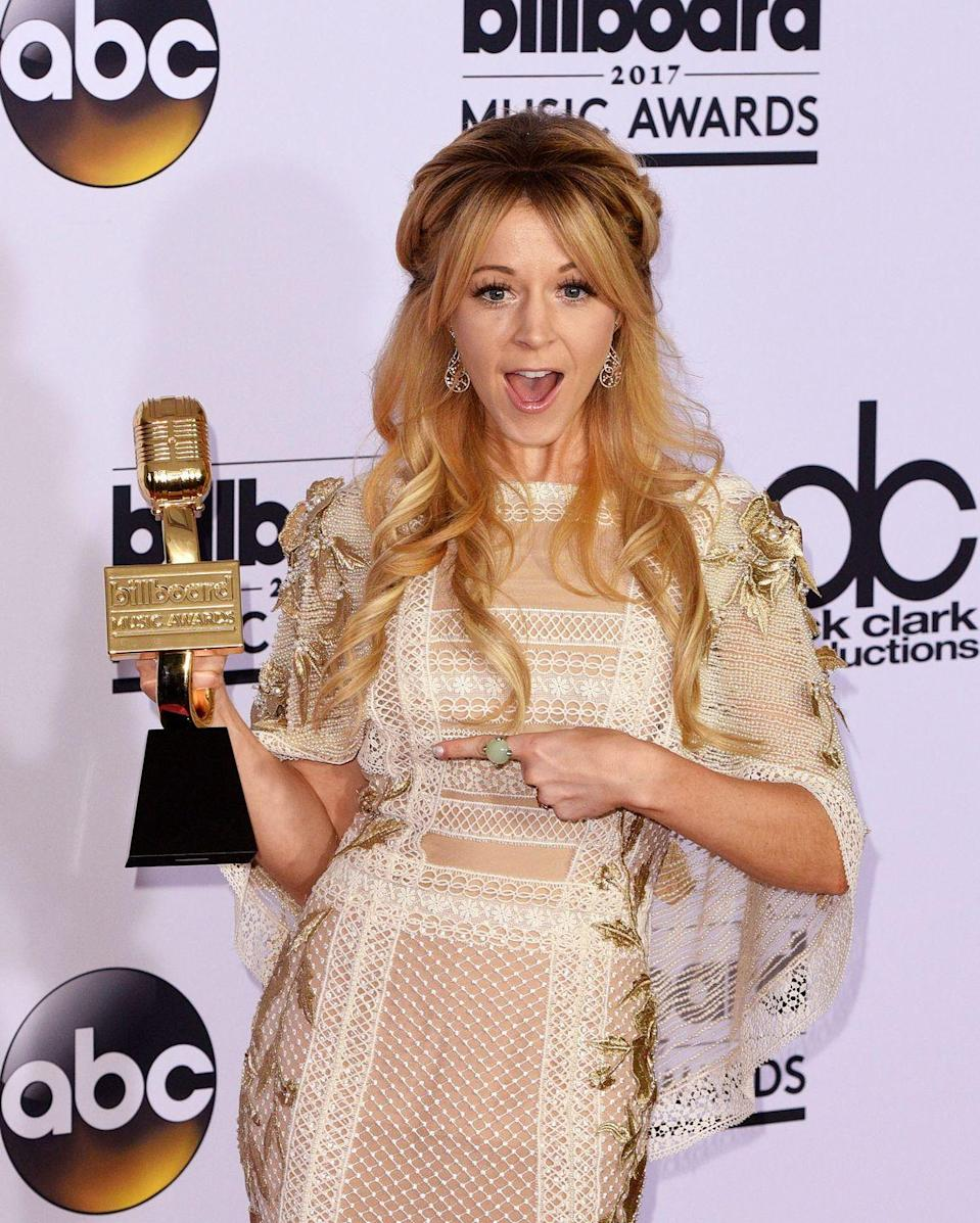 <p>Despite having success on her YouTube channel, it wasn't until 2010 that Lindsey Stirling gained a massive following. She wowed judges on <em>America's Got Talent</em> by incorporating the violin with dance. She was a quarter finalist on the show and went on to create popular albums of covers and original music. Her YouTube channel, Lindseystomp, continues to *thrive* with more than three billion (!) total views.</p>
