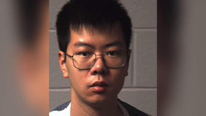 Yukai Yang, a chemistry student from China, bought thallium in March of 2018 and slowly gave it to his roommate, Juwan Royal. Yang recently pleaded guilty to attempted murder. (Northampton County DA's Office)