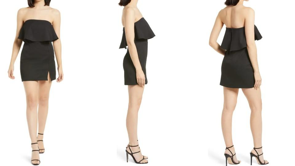 Lulus Kiani Strapless Bodycon Minidress - Nordstrom, $29 (originally $48)