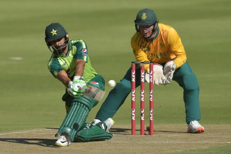 Pakistan skipper Babar made a fifty but Pakistan laboured with the bat