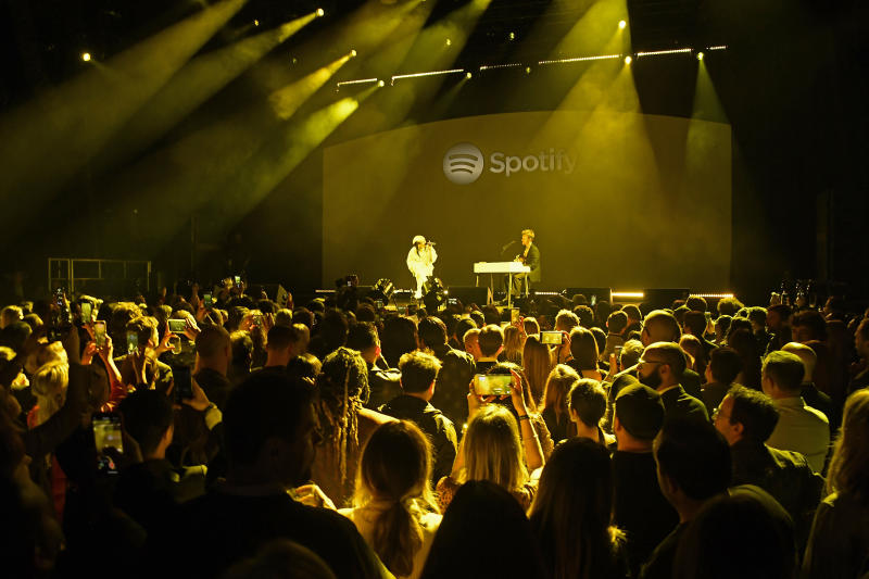 "Spotify Hosts ""Best New Artist"" Party At The Lot Studios - Inside"