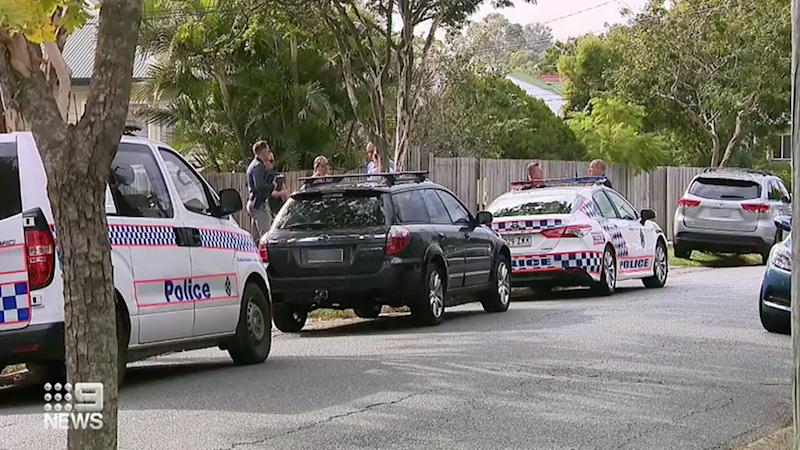 "Police were called to a home in Stafford, to find the body of a man and two teenage boys living in ""squalid"" conditions. Source: Nine News"