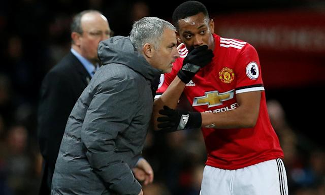 Anthony Martial and José Mourinho have had their differences but Manchester United now appear keen to keep the player at the club.