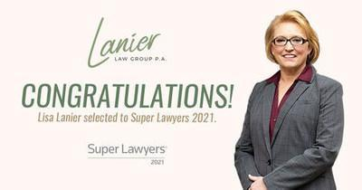 Lisa Lanier selected to Super Lawyers 2021