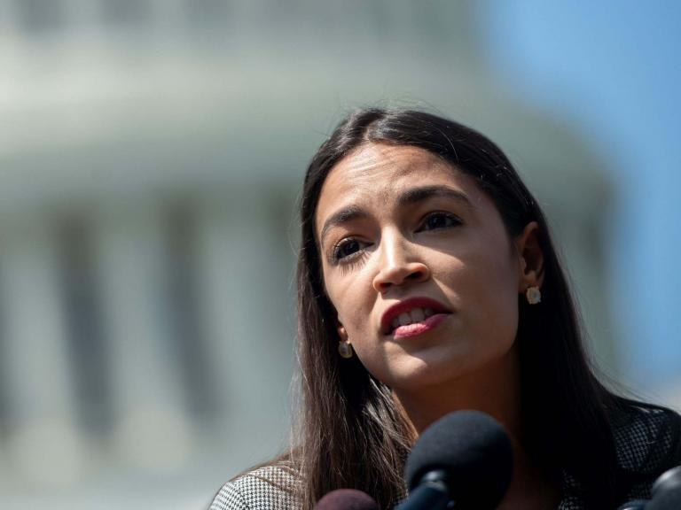 """Alexandria Ocasio-Cortez has slammed Liz Cheney in an escalation of tension between the two congresswomen over calling migrant detention camps at the US-Mexico border """"concentration camps"""".Ms Ocasio-Cortez, who had first described the detention facilities as concentration camps during an Instagram Live appearance last week, claimed that Ms Cheney had actually invoked the Holocaust.""""Reminder: the member who directly + explicitly compared concentration camps on our border to the Holocaust was *Liz Cheney*. The horrors of the Holocaust went beyond the use of concentration camps, yet camps were part of the process,' Ms Ocasio-Cortez tweeted. """"They have also been used before and after.""""Ms Ocasio-Cortez said last week during her Instagram Live that the US was running the """"concentration camps"""" on the US-Mexico border, and suggested that anyone who is not bothered by that idea is not particularly concerned with humanity.""""The US is running concentration camps on our southern border, and that is exactly what they are,"""" Ms Ocasio-Cortez said last week. """"If that doesn't bother you … I want to talk to the people that are concerned enough with humanity to say that 'never again means something.""""> Reminder: the member who directly + explicitly compared concentration camps on our border to the Holocaust was *Liz Cheney.*  >   >  The horrors of the Holocaust went beyond the use of concentration camps, yet camps were part of the process.  >   >  They have also been used before and after.> > — Alexandria Ocasio-Cortez (@AOC) > > June 24, 2019"""
