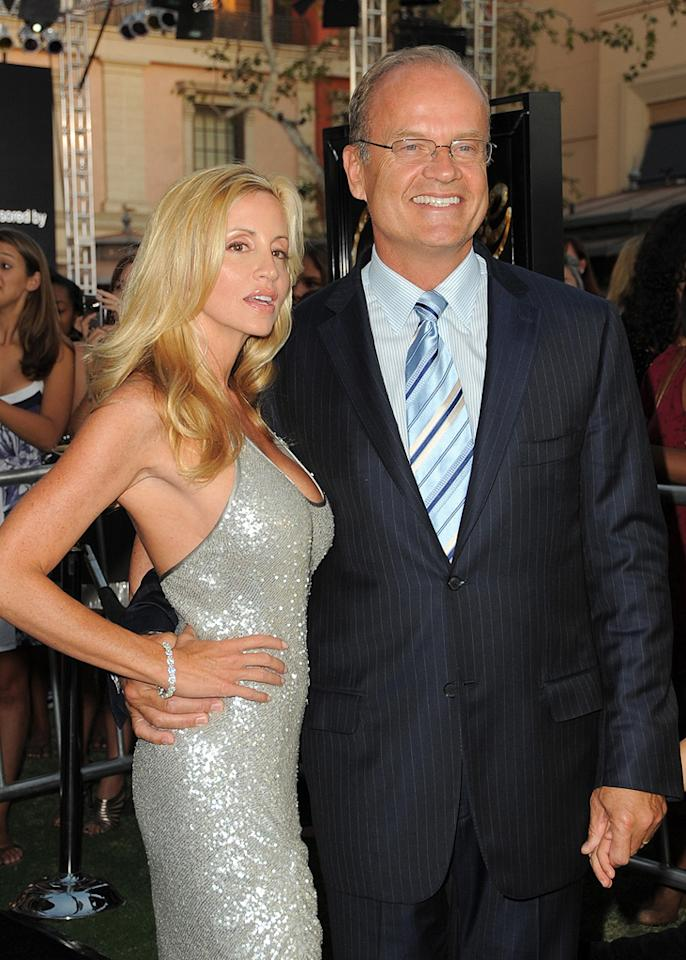 "<a href=""http://movies.yahoo.com/movie/contributor/1800020246"">Kelsey Grammer</a> and wife at the Los Angeles premiere of <a href=""http://movies.yahoo.com/movie/1810033914/info"">Fame</a> - 09/23/2009"