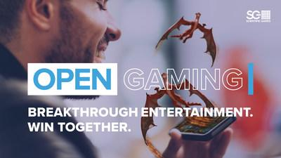 Scientific Games Launches OpenGaming™, an End-to-End Digital Ecosystem