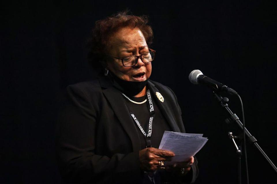 "<p>Lewis's sister, Ethel Mae Tyner, was one of the late Congressman's family members to speak at ""the Boy from Troy"" service. Lewis was the third of ten children born to parents Willie Mae and Eddie Lewis.<br></p>"