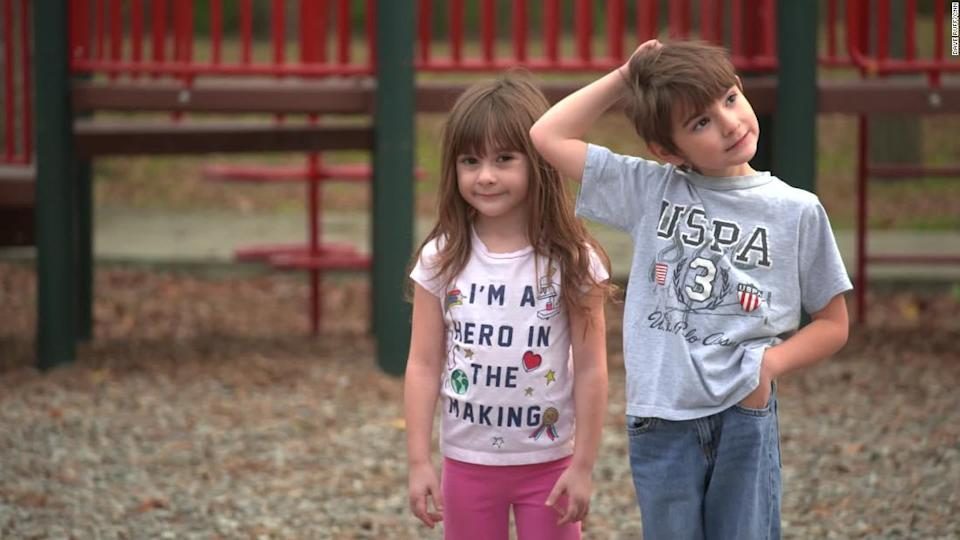 """<p>Isabella and Elijah can't go to school or play with other children so they don't risk exposing Brandi to Covid-19. </p><div class=""""cnn--image__credit""""><em><small>Credit: Dave Ruff/CNN / CNN</small></em></div>"""
