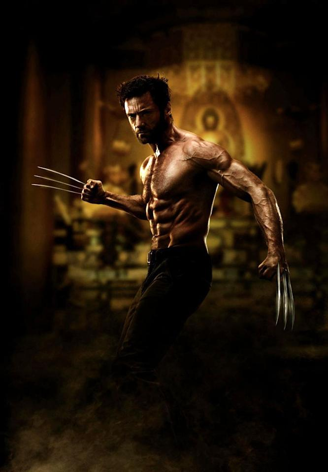 "Best Arms: Hugh Jackman, ""The Wolverine""<br />(Photo: 20th Century Fox)"