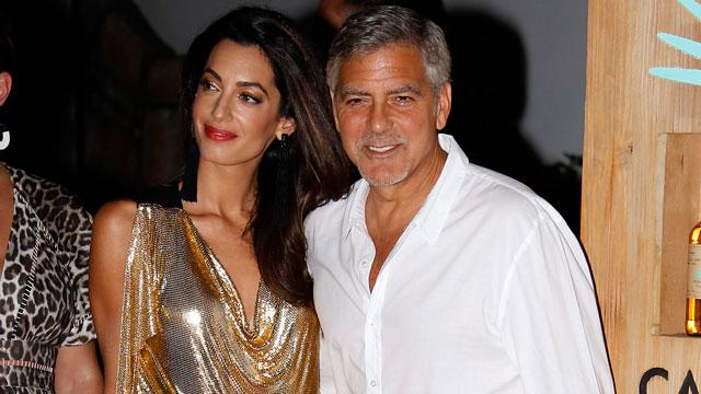 George and Amal Clooney's 11 Sweetest Moments!