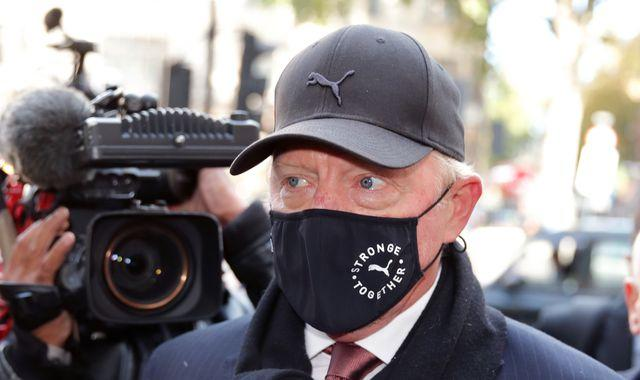 Boris Becker: Tennis star could face seven years in jail over bankruptcy charges, court hears