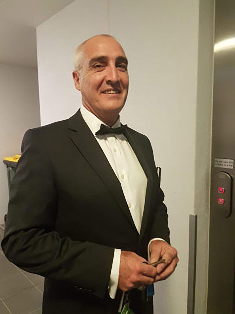 A supplied image obtained on Monday, October 5, 2020, of a Federal Circuit Court Judge Guy Andrew, who has been missing from the Mount Coot-tha area since Sunday, October 4. missing . (AAP Image/Supplied by QLD Police) NO ARCHIVING, EDITORIAL USE ONLY