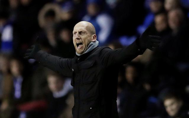 Soccer Football - FA Cup Third Round Replay - Reading vs Stevenage - Madejski Stadium, Reading, Britain - January 16, 2018 Reading manager Jaap Stam Action Images/Andrew Couldridge
