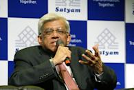 Government of India nominated scandal-hit IT company Satyam Computers board member Deepak Parekh addresses a press conference in Hyderabad on January 12, 2009. The three-member board, appointed by authorities in an effort to salvage the country's international business image, met at Satyam's headquarters in the IT-hub Hyderabad. The new members are Deepak Parekh, the chairman of private sector housing firm HDFC; C. Achuthan, a former member of regulator Securities and Exchange Board of India; and Kiran Karnik, former president of an IT lobby group. AFP PHOTO / Noah SEELAM