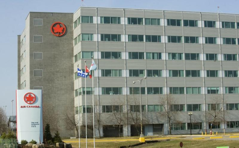Air Canada's head office in Montreal circa 2012.