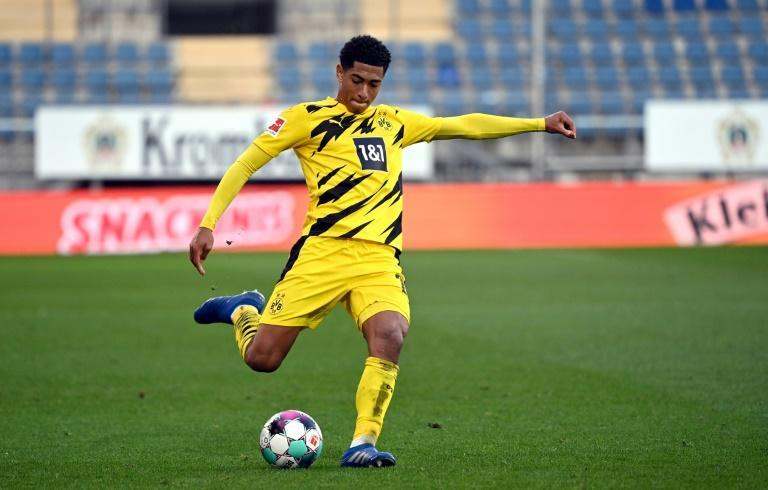 Dortmund's 17-year-old midfielder Jude Bellingham has been caled up by England for the first time