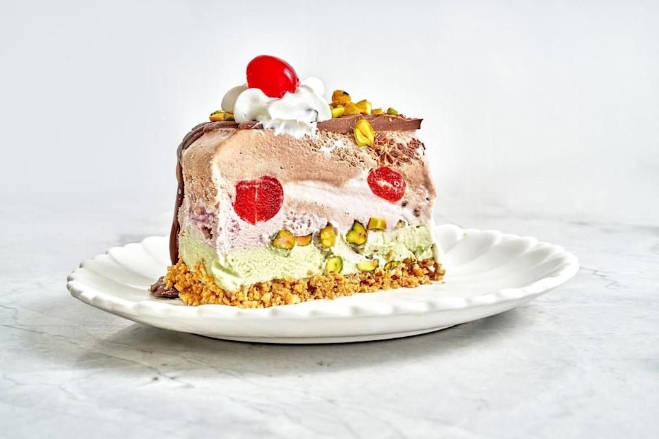 """<p>This summer's #1 stunner.</p><p>Get the recipe from <a href=""""https://www.delish.com/cooking/recipe-ideas/a36542396/spumoni-ice-cream-cake-recipe/"""" rel=""""nofollow noopener"""" target=""""_blank"""" data-ylk=""""slk:Delish"""" class=""""link rapid-noclick-resp"""">Delish</a>.</p>"""