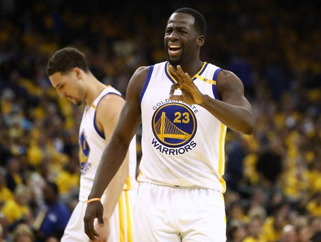 Three cheers for Draymond Green. (Getty Images)