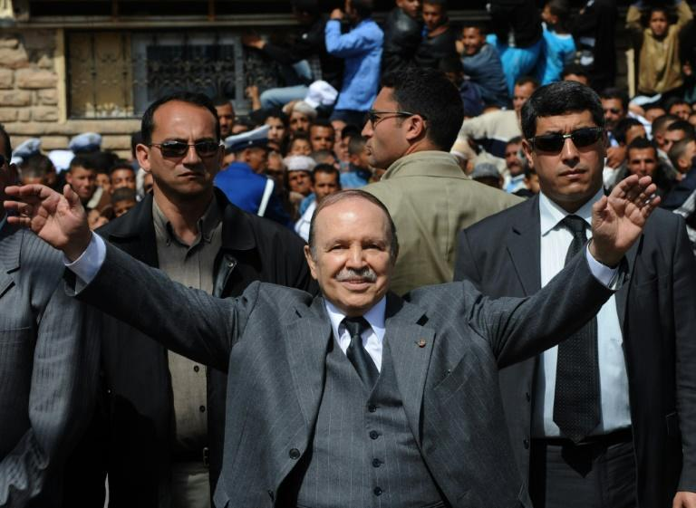 Bouteflika, pictured on March 26, 2009, was president for 20 years (AFP/Fayez Nureldine)
