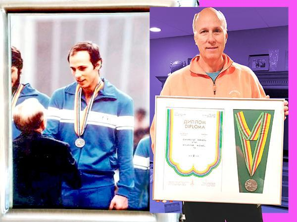 Mike Sylvester is the only American to have medaled at the 1980 Summer Olympics in Moscow. (Photos courtesy of Mike Sylvester)