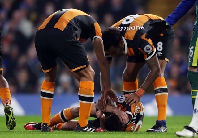 Ryan Mason's playing career was ended by a fractured skull