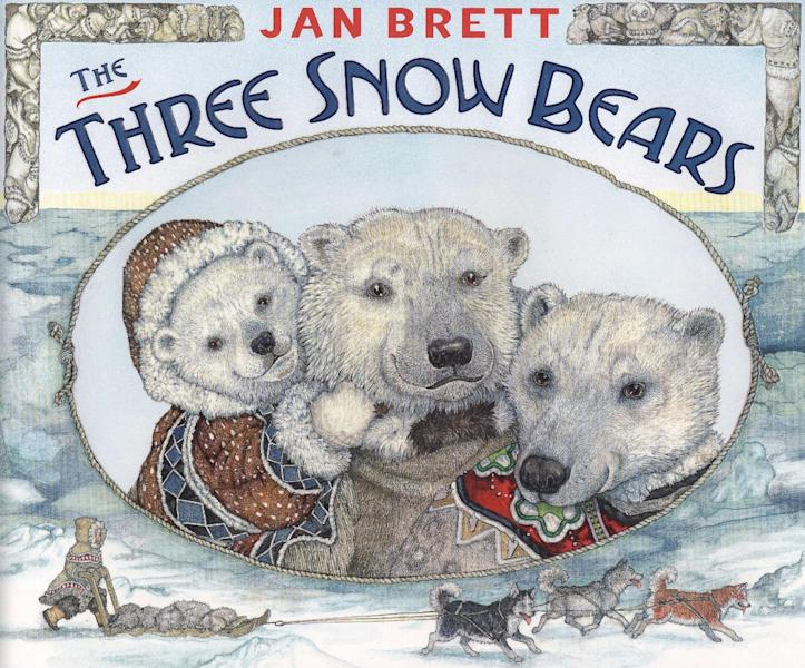 "This book cover image released by Putnam Juvenile shows ""The Three Snow Bears,"" by Jan Brett. (AP Photo/Putnam Juvenile)"