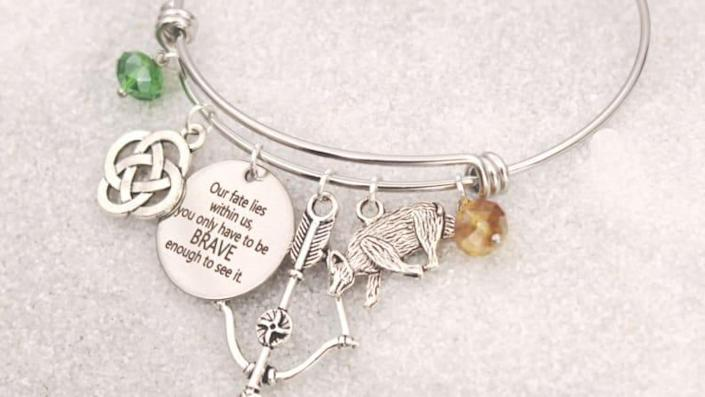 Handmade and personalized for only the bravest souls.