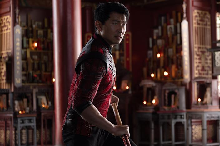 """Simu Liu stars as the debuting title superhero of Marvel's """"Shang-Chi and the Legend of the Ten Rings."""""""