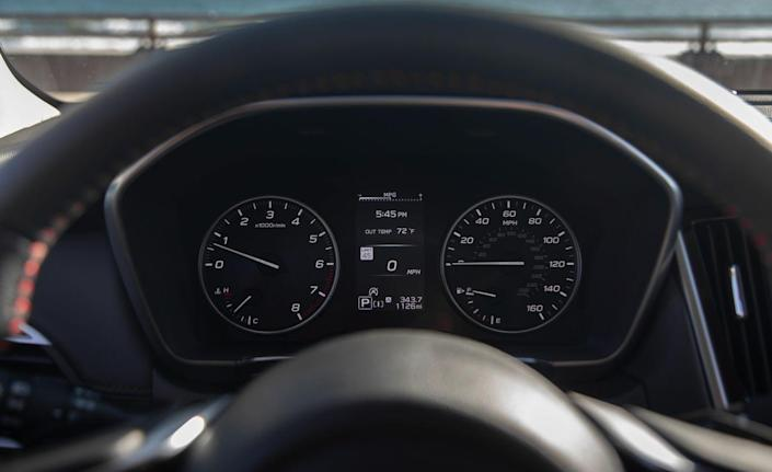 <p>The company's EyeSight suite of driver-assistance features is standard across the lineup and includes an adaptive cruise control system with a lane-centering feature.</p>