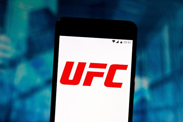UFC has developed a new product to allow for real-time in-fight betting. (Getty Images)