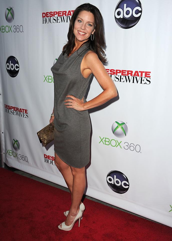 """Andrea Parker attends the """"<a target=""""_blank"""" href=""""http://tv.yahoo.com/desperate-housewives/show/36265"""">Desperate Housewives</a>"""" Series Finale Party at the W Hollywood on April 29, 2012 in Hollywood, California."""