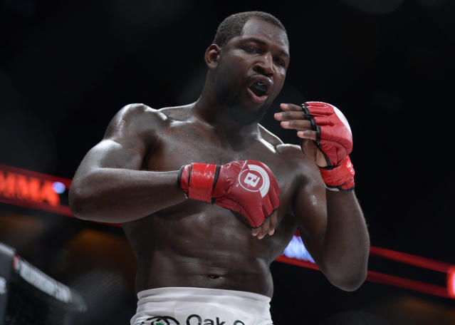Ed Ruth, a four-time wrestling All-American at Penn State, will face Neiman Gracie on Dec. 15 in Honolulu in a first-round Bellator Welterweight Grand Prix tournament match. (Getty Images)