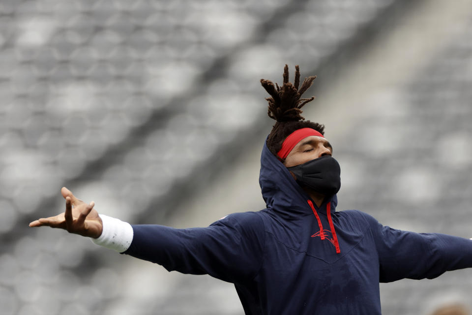 Cam Newton still could be useful to a few backup-needy NFL teams. (AP Photo/Adam Hunger)